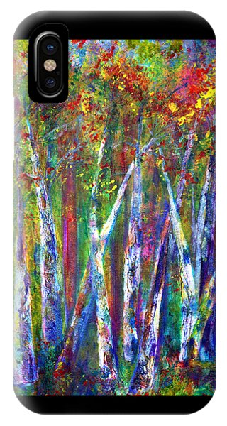 Autumn In Muskoka IPhone Case