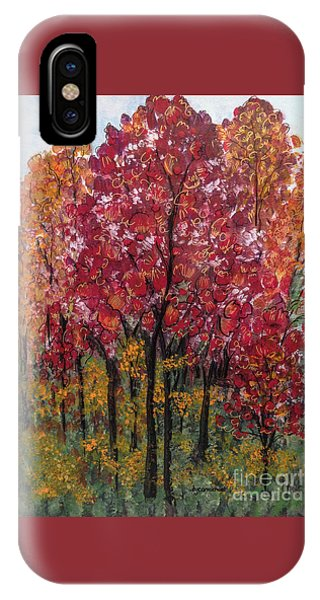 Autumn In Nashville IPhone Case