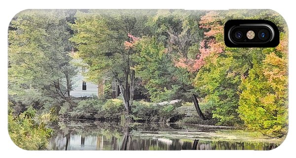 Autumn In Pastel IPhone Case