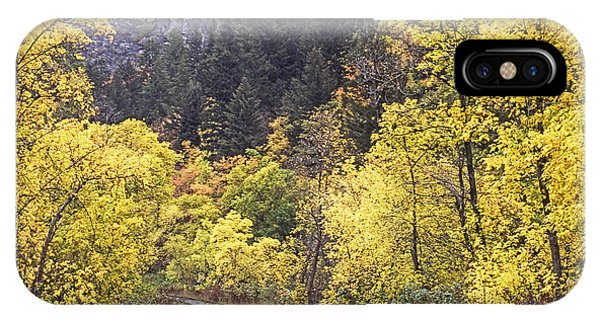 Autumn In Provo Canyon Utah IPhone Case