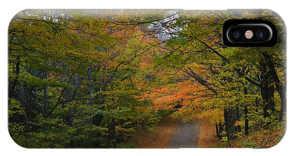 Autumn In The Caledon Hills IPhone Case