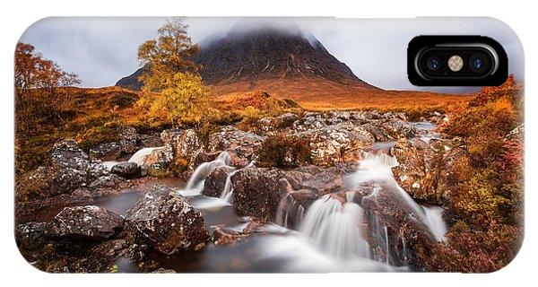 Autumn In The Glencoe IPhone Case