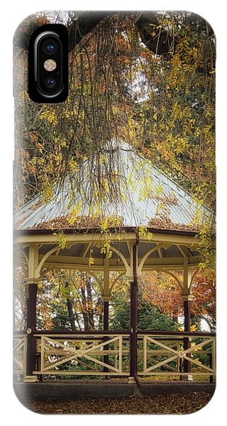 Autumn In The Park IPhone Case