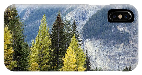 Autumn In The Rockies IPhone Case