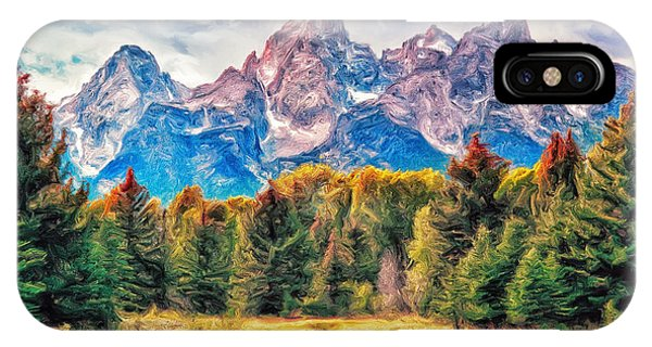 Autumn In The Tetons IPhone Case