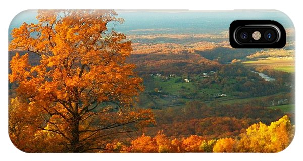 Autumn In The Valley IPhone Case