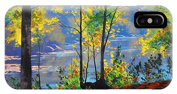 River iPhone Case - Autumn In Tumut by Graham Gercken