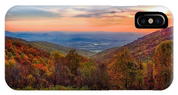 Autumn In Virginia IPhone Case