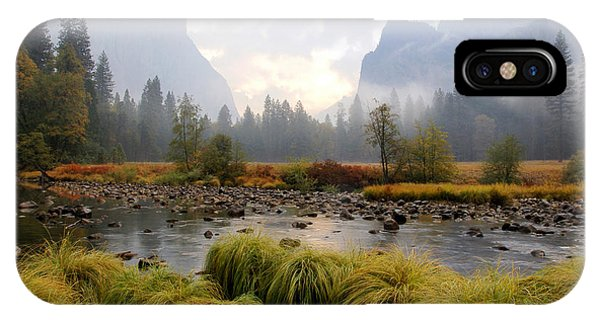 Autumn In Yosemite Valley IPhone Case