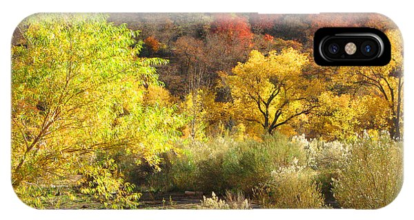 Autumn In Zion IPhone Case