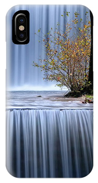 Flow iPhone Case - Autumn Interlude by Maria Kaimaki