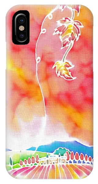 iPhone Case - Autumn Jewelry by Hisayo Ohta