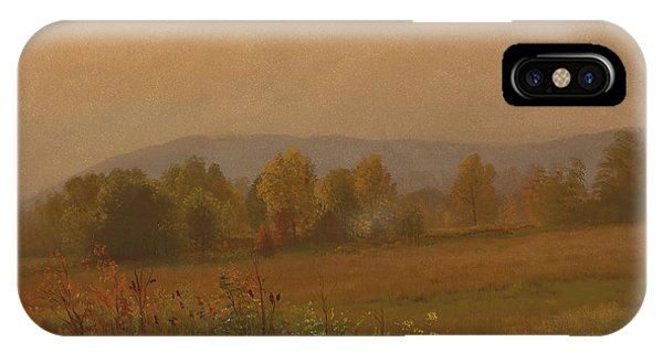 Autumn Landscape New England IPhone Case