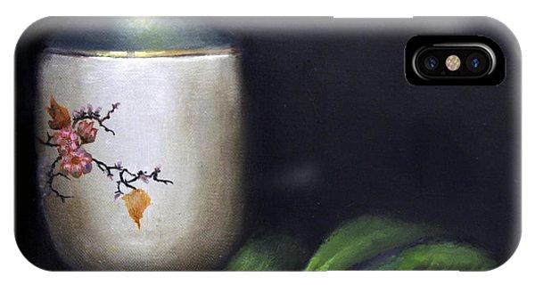 Autumn Laurel Berries Phone Case by Elizabeth Williams