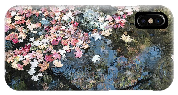 Autumn Leaves On Water IPhone Case