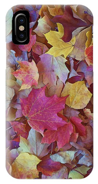 Autumn Maple Leaves - Phone Case IPhone Case