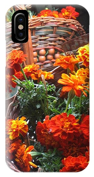 Autumn Marigolds IPhone Case
