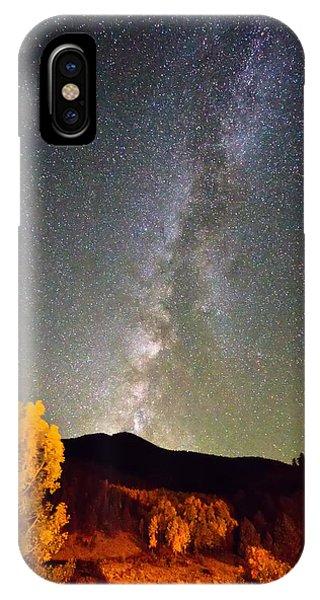 Autumn Milky Way Night Sky  IPhone Case
