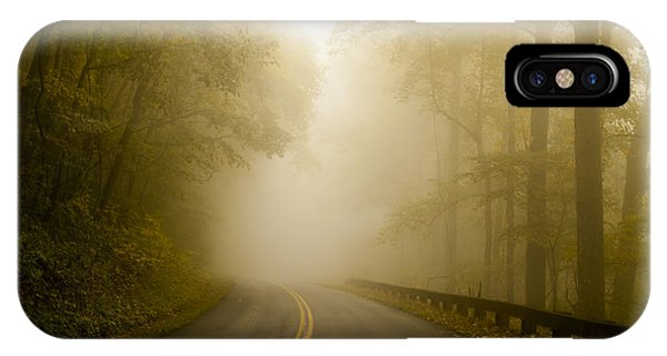 Autumn Mist Blue Ridge Parkway IPhone Case