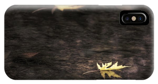 Autumn Mood - Fall - Leaves IPhone Case