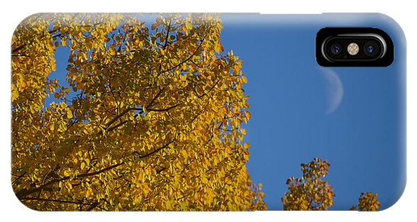 Autumn Moonrise IPhone Case