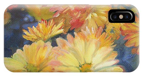 Autumn Mums Phone Case by Jennifer Lycke
