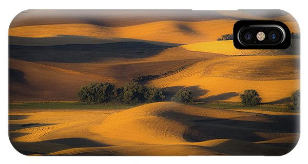 Us National Parks iPhone Case - Autumn Of Rolling Hills by Eunice Kim