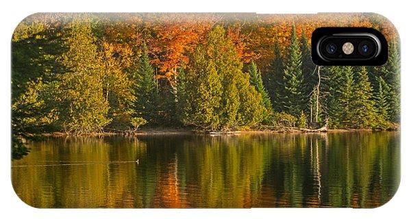 Autumn On Grand Sable Lake IPhone Case