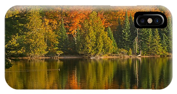 Autumn On Grand Sable Lake IPhone Case