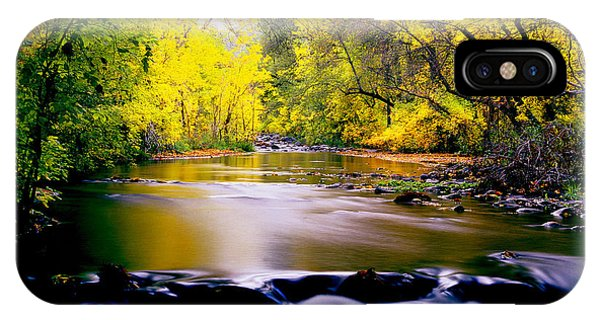 Autumn On Oak Creek IPhone Case