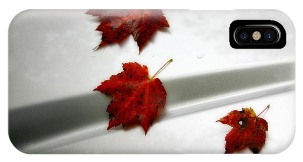 Autumn On The Car IPhone Case