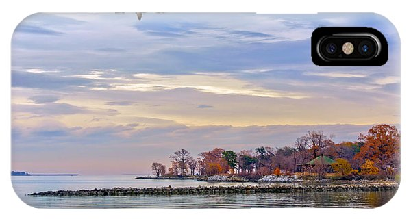 Autumn On The Chesapeake Bay IPhone Case