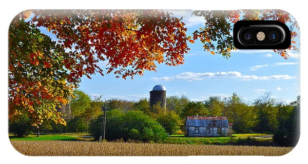 Autumn On The Farm IPhone Case