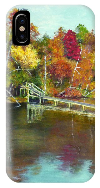 Autumn On The James IPhone Case