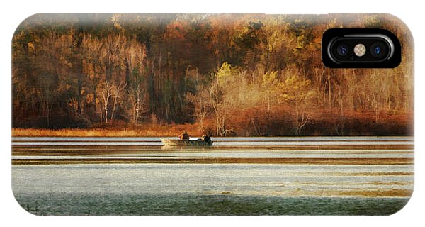 Autumn On The Lake IPhone Case