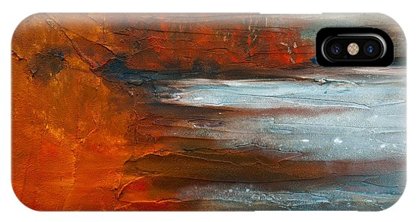 IPhone Case featuring the painting Autumn On The Sound by Jani Freimann