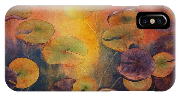 Autumn On Winslow Lake IPhone Case