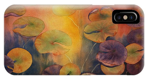 Autumn On Winslow Lake IPhone Case