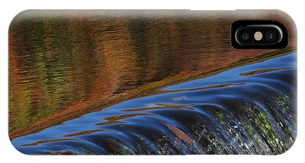 Autumn Over The Falls IPhone Case