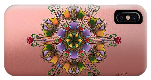 Autumn Peach IPhone Case