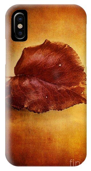Autumn Pear Leaf IPhone Case