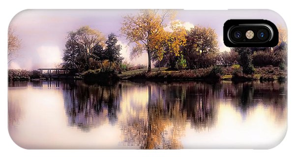 Autumn Pond IPhone Case