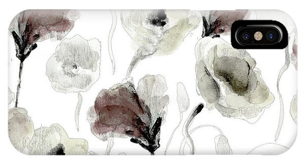 Poppies iPhone Case - Autumn Poppies by Lanie Loreth