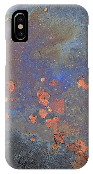 Autumn Puddle IPhone Case