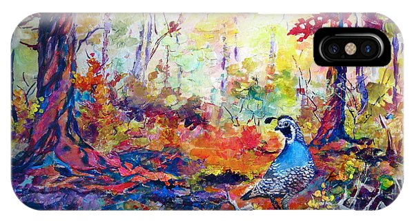 Autumn Quail IPhone Case