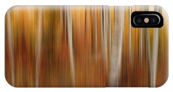 Autumn Quakies Impressionistic IPhone Case