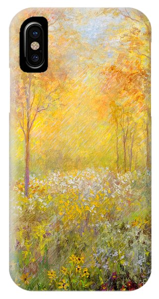 Autumn Rain IPhone Case