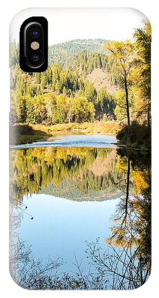 Autumn Reflections 3 Phone Case by Curtis Stein