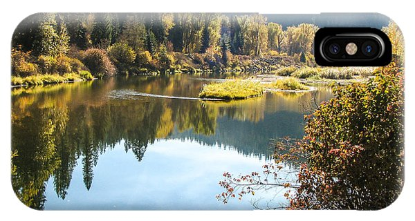 Autumn Reflections Phone Case by Curtis Stein