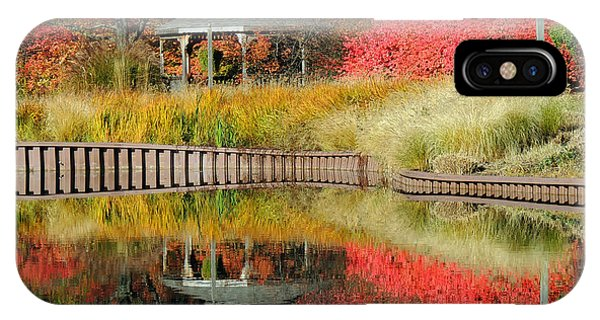 Autumn Reflections Phone Case by Teresa Schomig